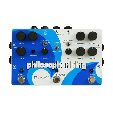 Pigtronix Philosopher King Envelope Filter And Compression
