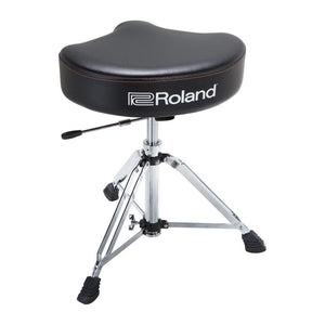 Roland RDT-SHV Saddle Drum Throne Vinyl w/ Hydraulic Base