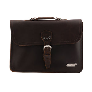 Gretsch Leather Laptop Bag, Brown (Limited Edition)