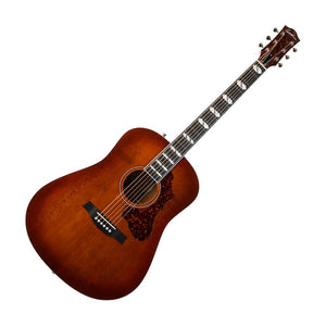 Godin Metropolis LTD EQ Acoustic Electric Guitar, Havana Burst High Gloss