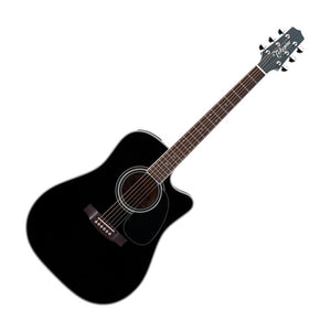 Takamine EF341SC Dreadnought Acoustic/ Electric w/Cutaway Black