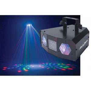 American Dj Dual Gem Pulse Effect Light Moonflower