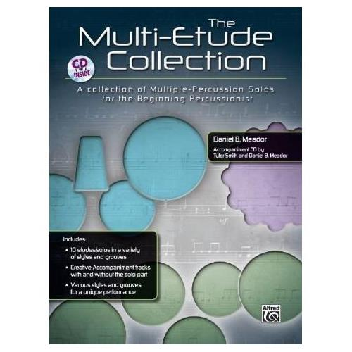 Alfred The Multi-Percussion Etude Collection Book & CD
