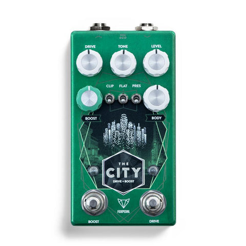Foxpedal The City V2 Overdrive Boost