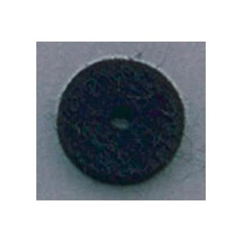 All Parts AP-0674-023 Black Felt Cushions for Strap Buttons (Sold Individually)