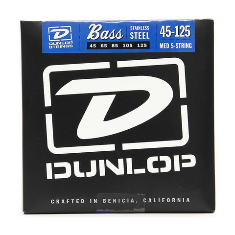 Jim Dunlop DBN45125 Bass 5 String Set Medium 45-125