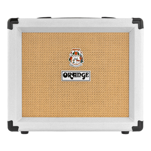 Orange Crush 20 1x8 20W Guitar Combo Amp, Limited Edition White