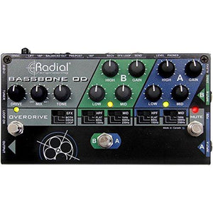 Radial Bassbone OD Bass Preamp With Overdrive