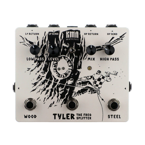 KMA Audio Machines Tyler Frequency Splitter, White (Gear Hero Exclusive)