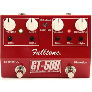 Fulltone GT-500 Distortion and Overdrive Booster