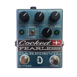 Daredevil Pedals Cocked and Fearless Distortion and Wah