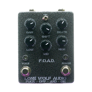 Lone Wolf Audio FOAD V3 Black Metal Overdrive