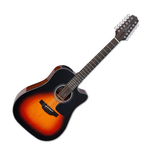 Takamine GD30CE-12 12-String Dreadnought Acoustic electric Guitar, Brown Sunburst