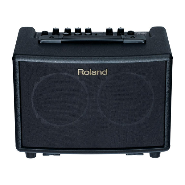 Roland AC-33 30-Watt Portable Battery Powered Acoustic Amp, Black