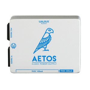 Walrus Audio Aetos 8 Output Power Supply, White/Blue (Gear Hero Exclusive)