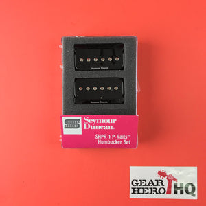 [USED] Seymour Duncan P-Rails Set Black Electric Guitar Electronics
