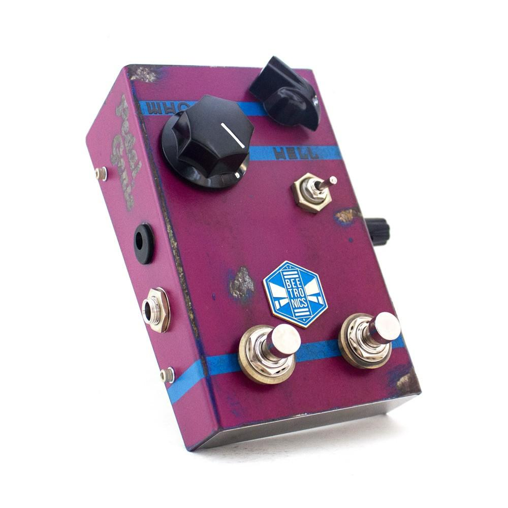 Beetronics WhoctaHell Low Octave Fuzz, Purple (Pedal Genie Exclusive)
