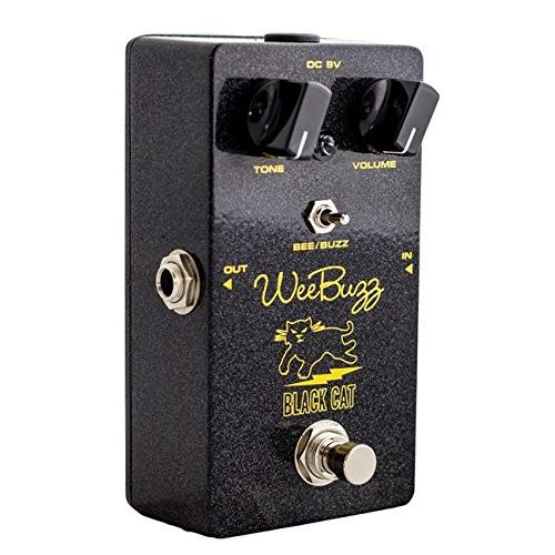 Black Cat Wee Buzz Fuzz Pedal