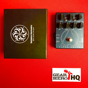 [USED] Darkglass Alpha Omega Bass Preamp and Overdrive