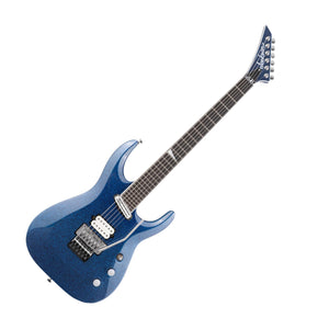 Jackson SL27 EX Limited Edition Wildcard Series Soloist, Blue Sparkle