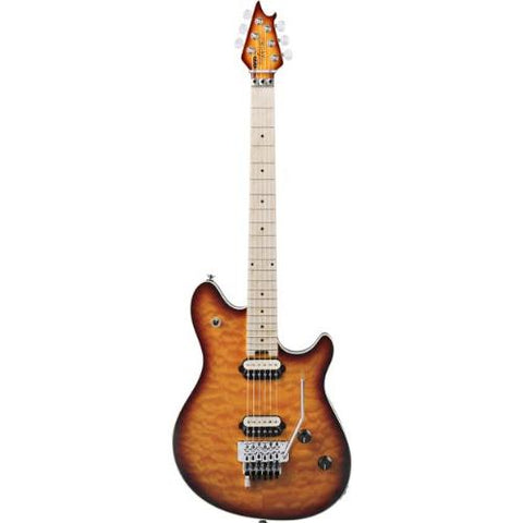 EVH Wolfgang Special Left Handed Electric Guitar with Hardshell Case (Tobacco Burst)