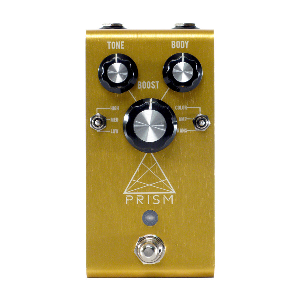 Jackson Audio Prism Preamp/Boost/Overdrive, Gold