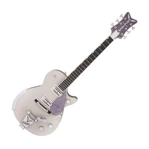 Gretsch G6134T-LTD Limited-Edition Penguin w/Bigsby, Two-Tone Smoke Gray/Violet Metallic