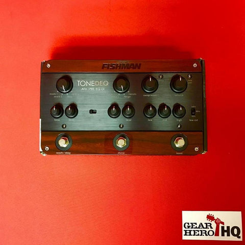 [USED] Fishman ToneDEQ Acoustic Instrument Preamp with Effects