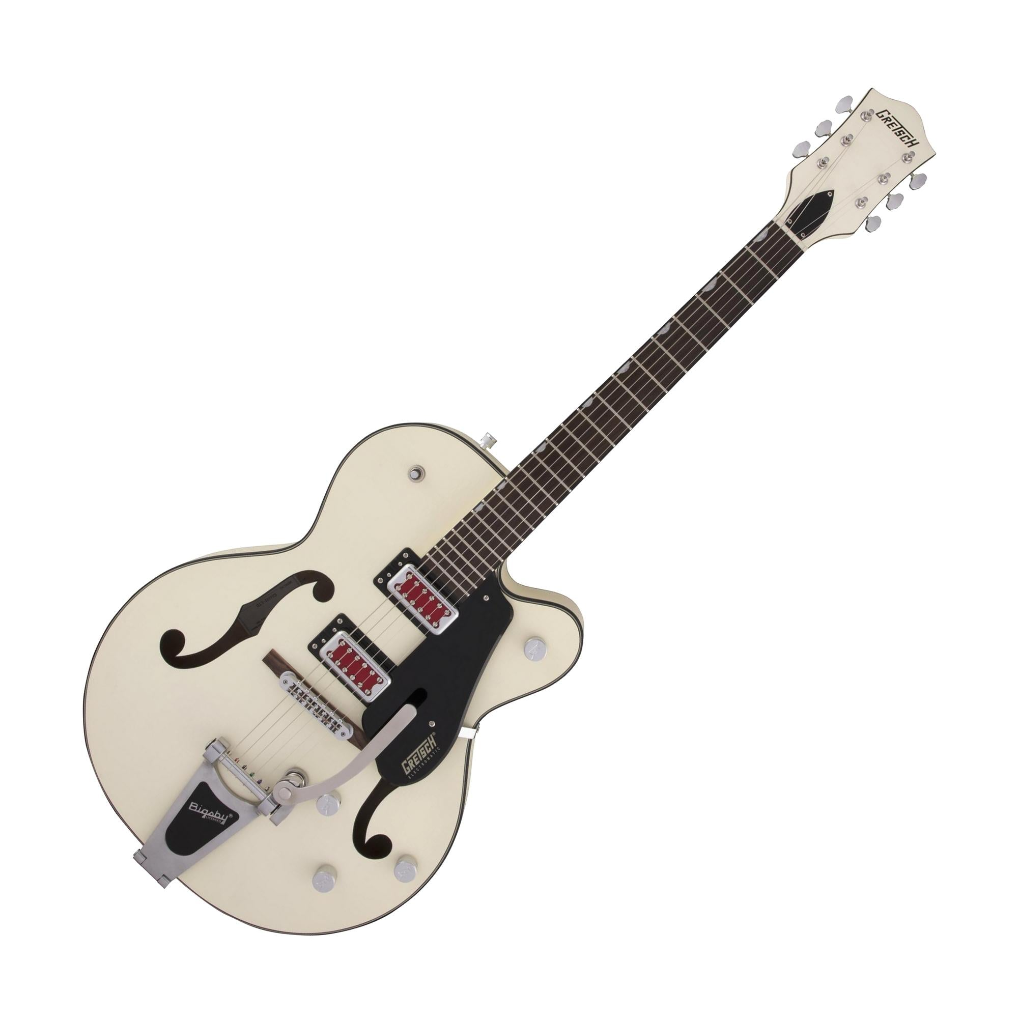 Gretsch G5410T Electromatic Rat Rod Hollow Body Single-Cut w/Bigsby, Matte Vintage White