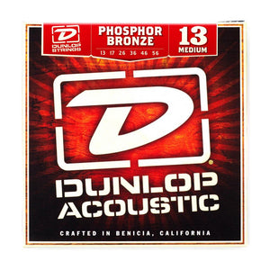 Jim Dunlop DAP1356 Acoustic Phosphor Bronze Medium 13-56