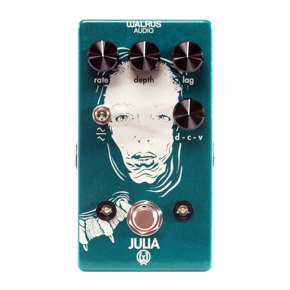 Walrus Audio Julia Analog Chorus Vibrato, Teal (Gear Hero Exclusive)