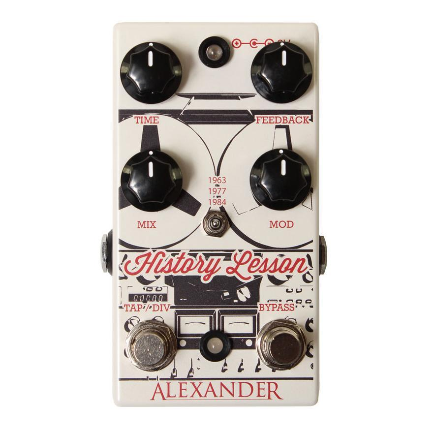 Alexander Pedals History Lesson Delay
