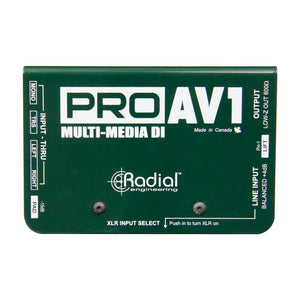 Radial ProAV1 Multi-Media DI