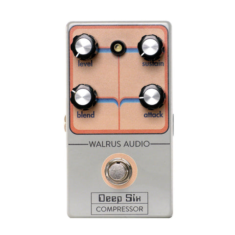 Walrus Audio Deep Six Compressor (Black Friday Limited Edition 2018)