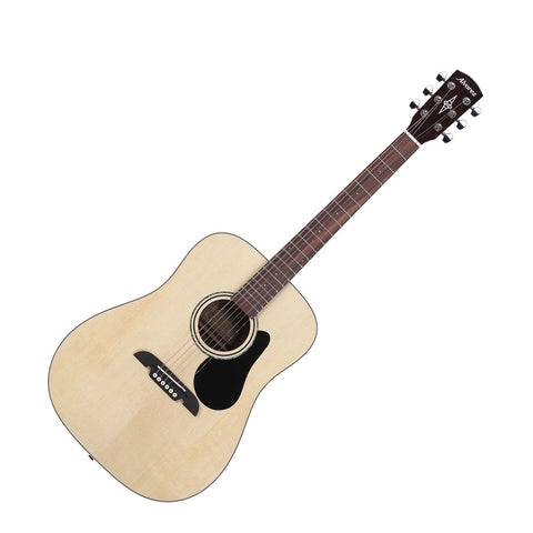 Alvarez RD26 Regent Series Dreadnought Acoustic Guitar, Natural Gloss Finish