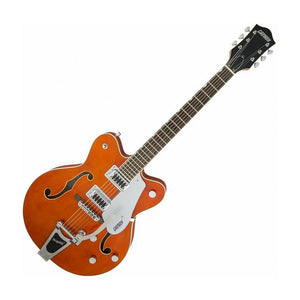 Gretsch G5422T Electromatic Hollowbody Double-Cutaway w/Bigsby, Orange Stain