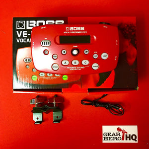 [USED] Boss VE-5-RD Vocal Performer, Red