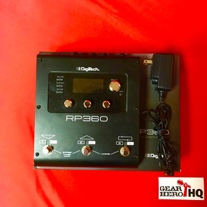 [USED] DigiTech RP360 Guitar Multi-Effects with USB