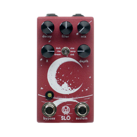 Walrus Audio Slö Multi Texture Reverb, Red (Gear Hero Exclusive)