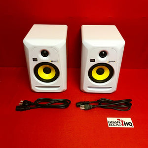 [USED] KRK RP5G3W-NA Rokit 5 Generation 3 Powered Studio Monitor - White - Pair