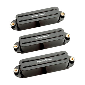 Seymour Duncan Hot Rails Strat Pick Up Set, Black