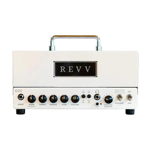 Revv Amplification D20 Guitar Amplifier Head, White