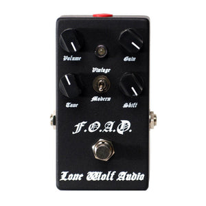 Lone Wolf Audio FOAD Black Metal Overdrive