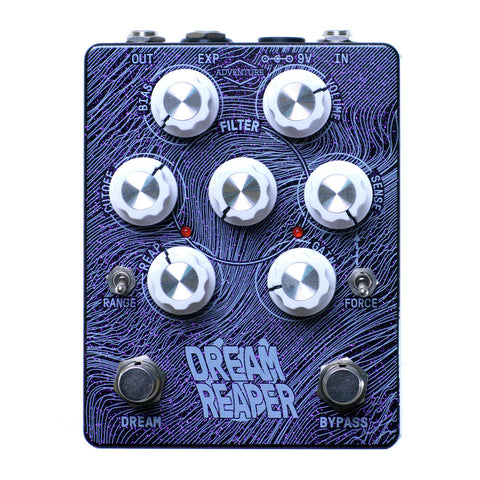 Adventure Audio Dream Reaper Fuzz, Purple Sparkle (Gear Hero Exclusive)