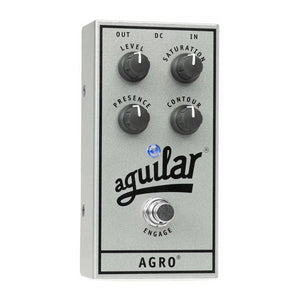 Aguilar AGRO Bass Distortion, 25th Anniversary Silver (Limited Edition)
