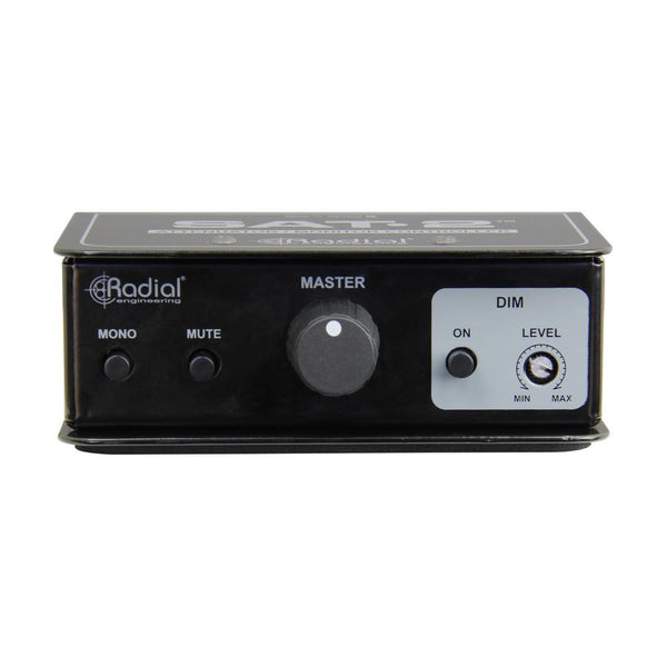 Radial SAT-2 Stereo Audio Attenuator & Monitor Controller