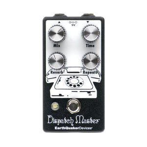 EarthQuaker Devices Dispatch Master V3 Delay and Reverb, Black (Gear Hero Exclusive)