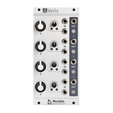 Mutable Instruments Veils Quad VCA