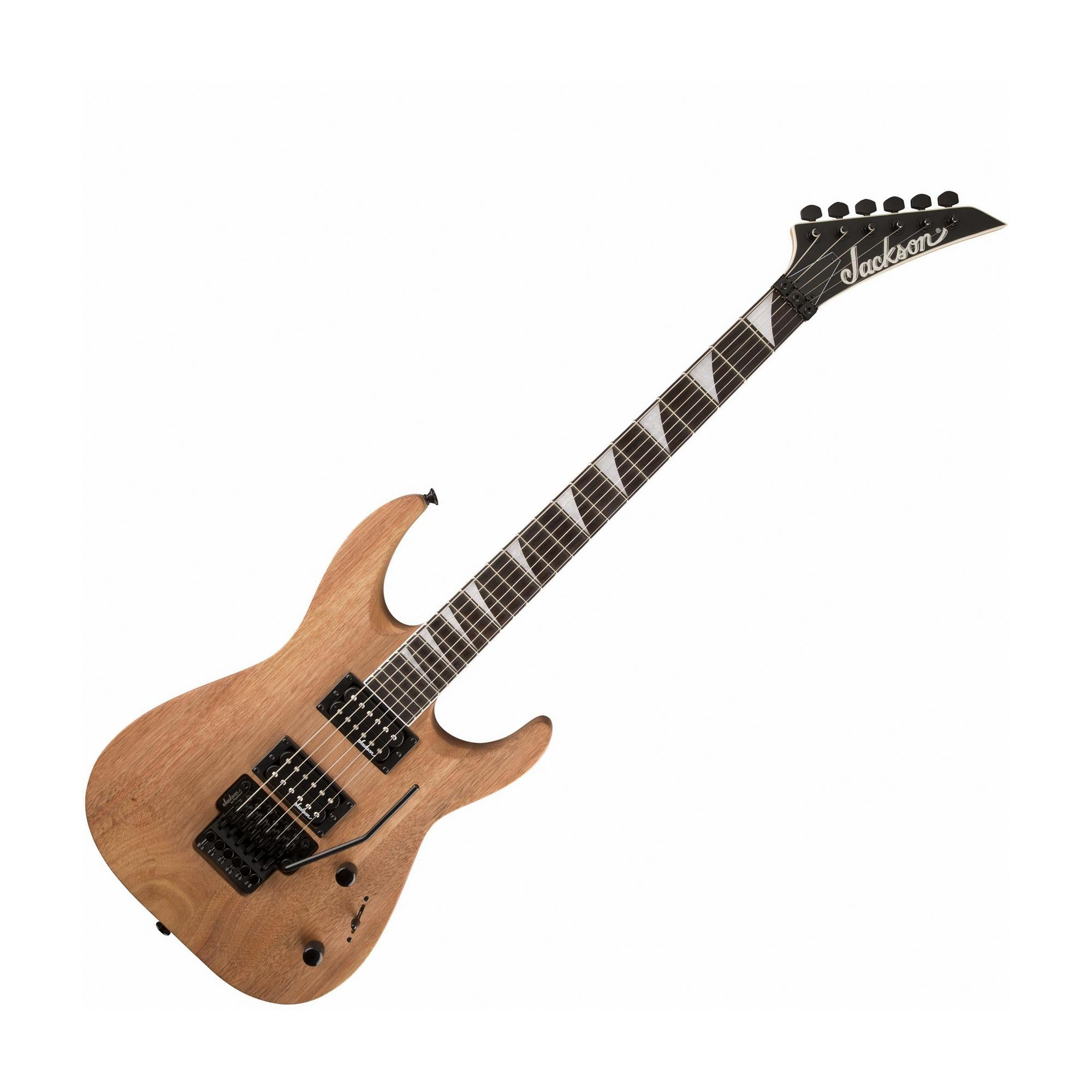 Jackson JS32 DKA JS Series Dinky Arch Top Electric Guitar, Natural Oil