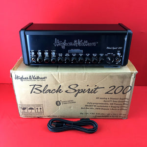 [USED] Hughes & Kettner Black Spirit 200 Guitar Amp Head